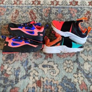 Nike Air Presto Extreme/ React 270 Toddler Lot